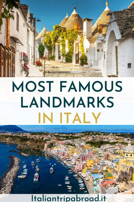 Most famous landmarks in Italy