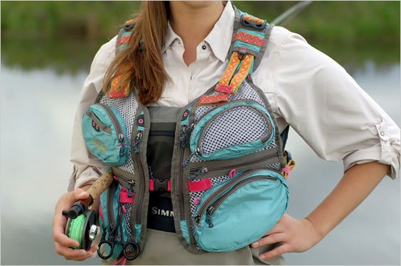 Physical Culture | Gear Test, Women's Fly-Fishing Vests - The New York Times > Fashion & Style > Slide Show > Slide 5 of 7