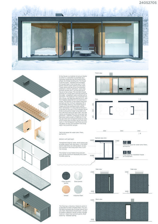 Gallery Of 4 Tiny Houses Selected As Winners In The Ryterna Modul Architectural Challenge 2018 13 Architecture House Architecture Architecture Portfolio