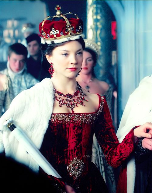 The Tudors costumed by Joan Bergin.  Beautiful!  Although of I remember correctly, this is when she was given the title of marquis but that is not a correct marquis crown.