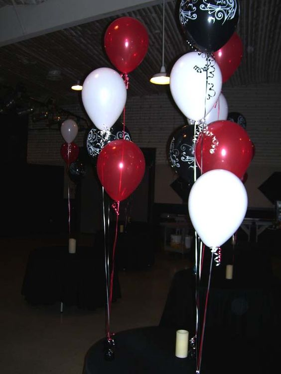 Party decorations for 60th birthday party at s i r for Decoration 60th birthday party