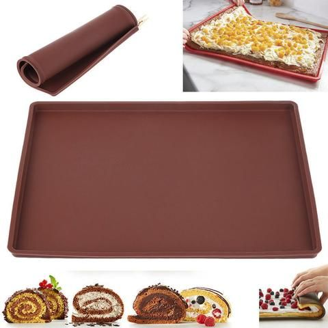 Non Stick Baking Tray Baking Mat Silicone Baking Sheet Silicone Baking