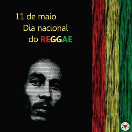O dia 11 de maio é considerado o dia nacional do Reggae, pela morte do cantor e maior ícone da musica de Reggae no mundo, Bob Marley.   Feliz dia do reggae ♪  #Bob #Reggae #Music: