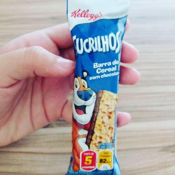 Lanchinho da manhã : barrinha de cereal de sucrilhos  ! Apenas 82kcal   #secavaca30dias2 #secavaca #30diasparasecar #90dias #perderpeso #lossweight #fit #fitness #ficarmagra #emagrecimento #emagrecer #comoemagrecer #vidasaudavel #saudeebemestar #alimentacaosaudavel #reeducaçãoalimentar #comerbem #aneehalves #sjc #jacarei #instabgs