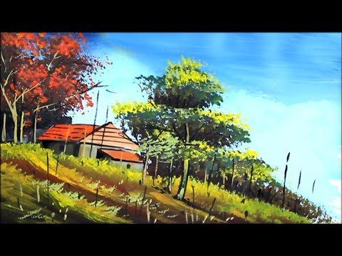 Acrylic Landscape Painting Scenery Drawing Of Nature Landscape Paintings Landscape Paintings Acrylic Landscape