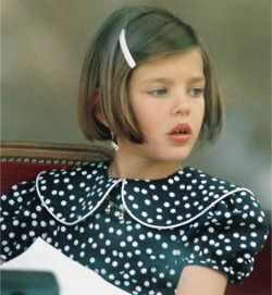 Look how pretty she is as a child. To have children this pretty, would be a God-send.