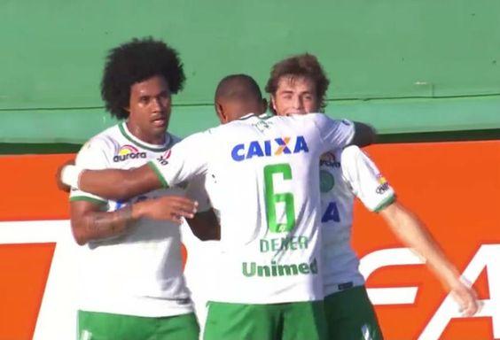 BotafogoDePrimeira: Com dedo de Caio Júnior, Chape volta a vencer e em...