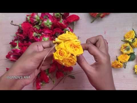Enjoy The Videos And Music You Love Upload Original Content And Share It All With Friends Famil Flower Decorations Flower Jewelry Diy Flower Garland Wedding