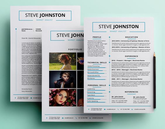 Resume 10 - A4 Powerpoint Format Resume Design Pinterest - powerpoint designer resume