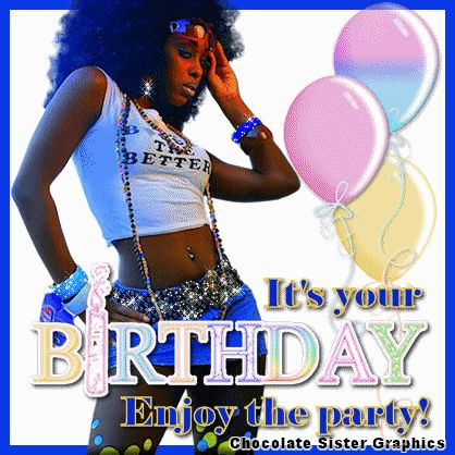 Chocolate Sister Graphics African American Profile Jpg 418x418 Happy Birthday Quotes