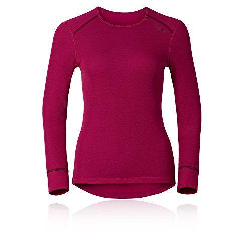 Odlo Damen Shirt L//S Crew Neck Warm St Unterhemd
