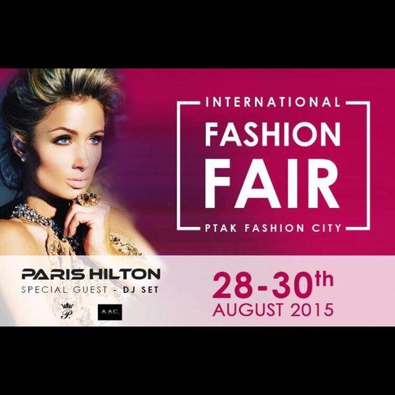 #Poland! @ParisHilton will see you at #PtakFashionWeek City for my #DJ set on 08.28.15!  http://www.ptakfashioncity.com/pl/ #Beauty #DJ #Fashion #FashionWeek #Glamour #HighOffMyLove #HOML #Love #Model #ParisHilton #PFW #Ptak #YMCMB