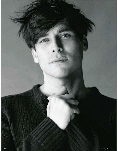Rob James-Collier by Bruce Weber for Vogue Germany, January 2013