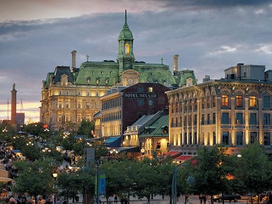 place jacques cartier old montreal