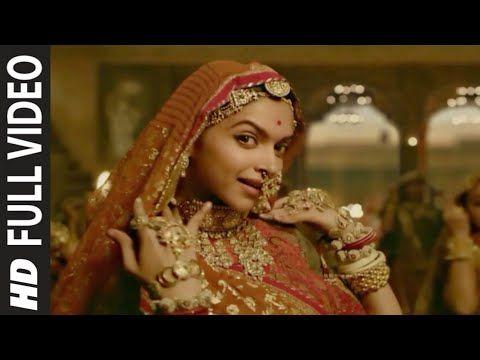Ghoomar Full Video Song Padmaavat English Subtitles 5 1 Dts Sound Youtube Deepika Padukone Sanjay Leela Bhansali Bollywood