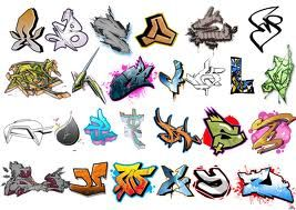 graffiti letters edit it and create ur names in graffiti