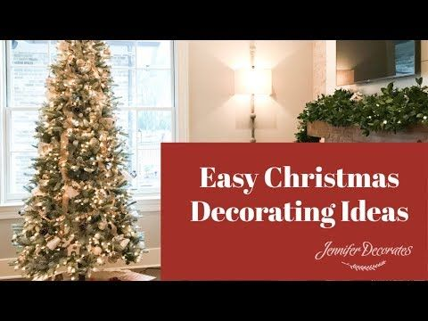 Christmas Decorating Ideas Christmas Centerpiece Ideas Youtube Christmas Decorations Christmas Decorations For The Home Easy Christmas Decorations