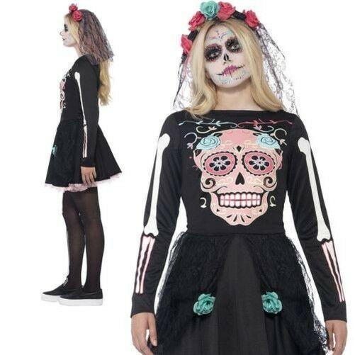 Giorno dei morti Sweetheart Costume Smiffys Costume