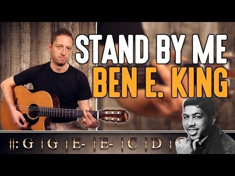 Stand By Me Ben E King Part 1 2 Guitare Facile Tabs Youtube Guitar Stand Learn Acoustic Guitar Playing Guitar