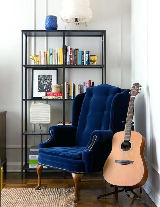 Blue Velvet Wing Back Chair My Wing Back Chair Needs A Major