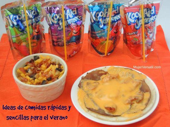 Disfruta el verano con comidas r pidas y sencillas - Comida faciles y rapidas ...