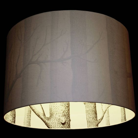Trees On The High Street And Floor Lamp Shades On Pinterest