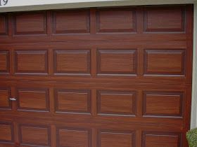 Awesome Tutorial On Exactly How To Paint A Garage Door To