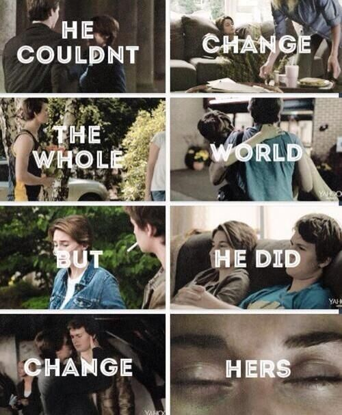 Ansel Elgort and Shailene Woodley The Fault in Our Stars Hazel Grace and Augustus Waters: