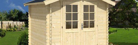 Wooden Storage Sheds And Workshop Sheds | Log Cabins | Summer House Blog |  Pinterest | Log Cabins, Storage Ideas And Garden Buildings