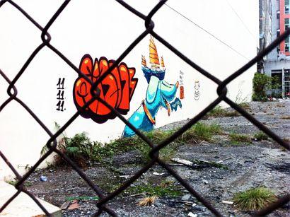 當城市不容許街頭藝術
