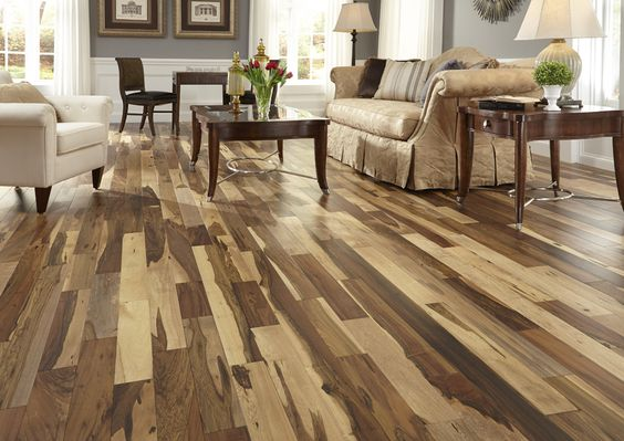 Bellawood Matte Brazilian Pecan - for those who prefer the simple elegance of an oil-rubbed floor without the tedious maintenance!