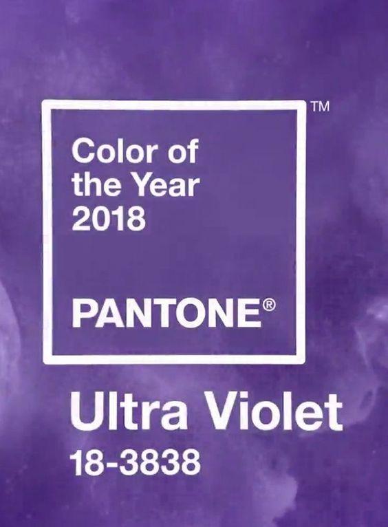 2018.év színe: ultraibolya