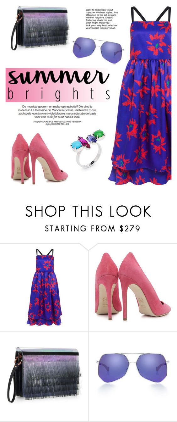 """""""Summer brights!"""" by ifchic ❤ liked on Polyvore featuring Edit, Dee Keller, Miista, Grey Ant, Joomi Lim, contestentry, summerbrights and ifchic"""