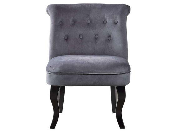 fauteuil marquis coloris gris vente de fauteuil conforama d co pinterest marquis ps. Black Bedroom Furniture Sets. Home Design Ideas