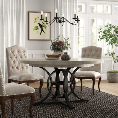 Lexington Oyster Bay Calerton Extendable Dining Table Wayfair In 2020 Oval Table Dining Upholstered Dining Chairs Extendable Dining Table