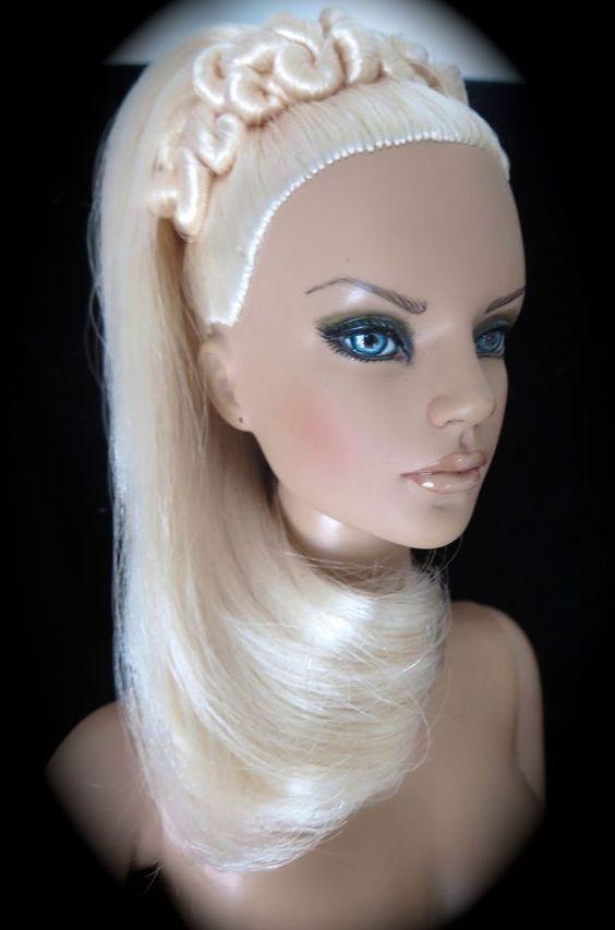 "**CASSANDRA"""" TONNER REPAINT-by Samantha of TPD-VERSATILE /STUNNINGLY GORGEOUS #Dolls"