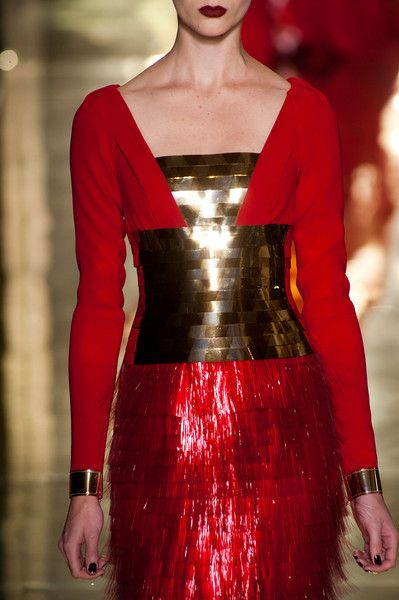 Georges Chakra at Couture Fall 2012 - Details Runway Photos