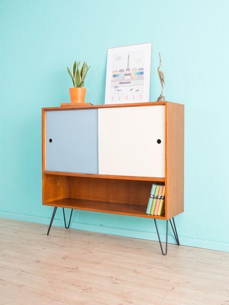 Vintage Kommoden - TEAK Sideboard, Kommode, 60er Jahre, 50er - ein Designerstück von Mid-Century-Friends bei DaWanda