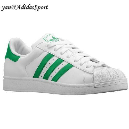 superstars adidas verd