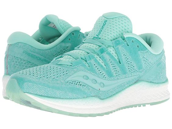 Saucony Freedom Iso2 Aqua Women S Running Shoes Hit The Ground Running The Comfortable And Cushioning Saucony Fr Running Shoes For Men Saucony Running Shoes