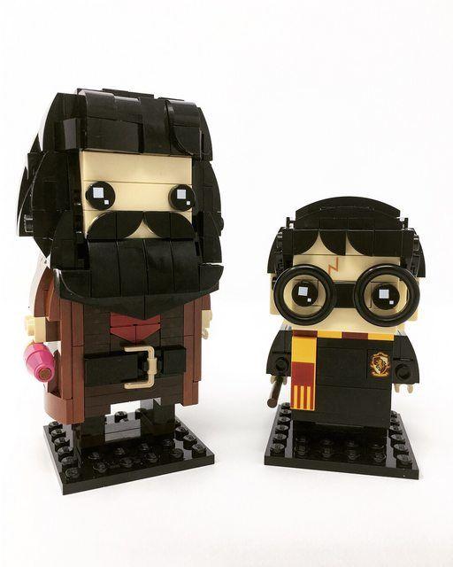 Moc Hagrid Brickheadz Lego Licensed Eurobricks Forums Lego Activities Legos Lego Figures