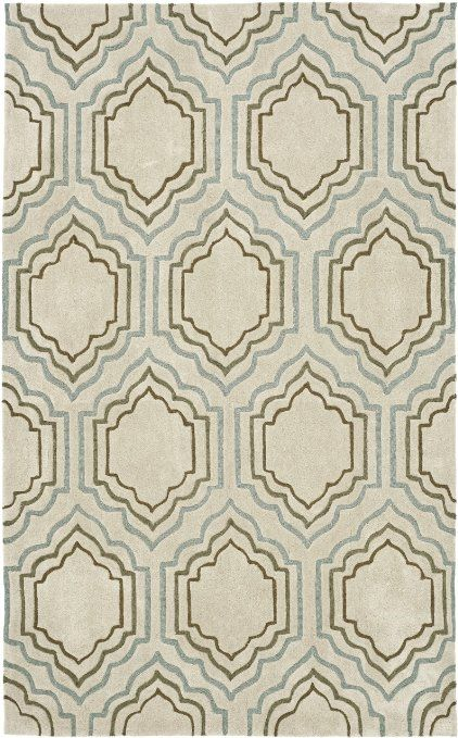 Amazon.com - Safavieh Modern Art Collection MDA626A Handmade Light Blue-Green Area Rug, 8-Feet by 10-Feet -