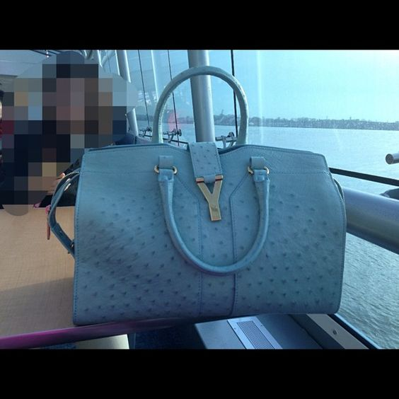 authentic ysl cabas chyc