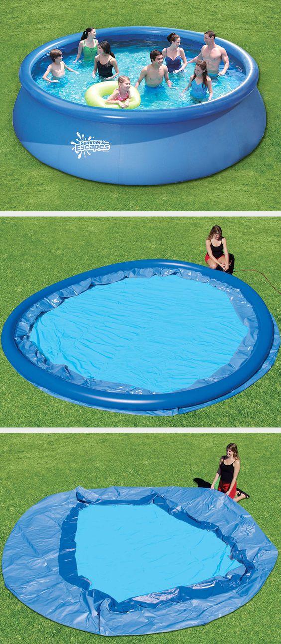 Beautiful Unsere Quick Up Schwimmbecken von Intex schnell aufgebaut und rein ins Badevergn gen schwimmbecken pool garten Gartenpools von POOLSANA Pinterest