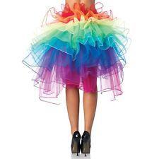 Rock wie Pfau Tutu Tütü GOGO Girl Dance Dress Tanzkleid Petticoat Ballett Kleid