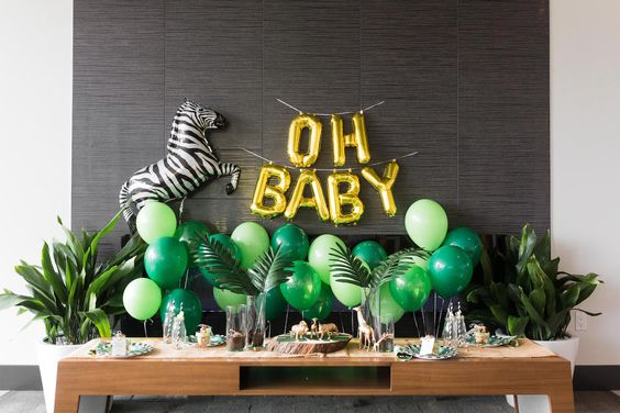Safari Baby Shower | Black Twine