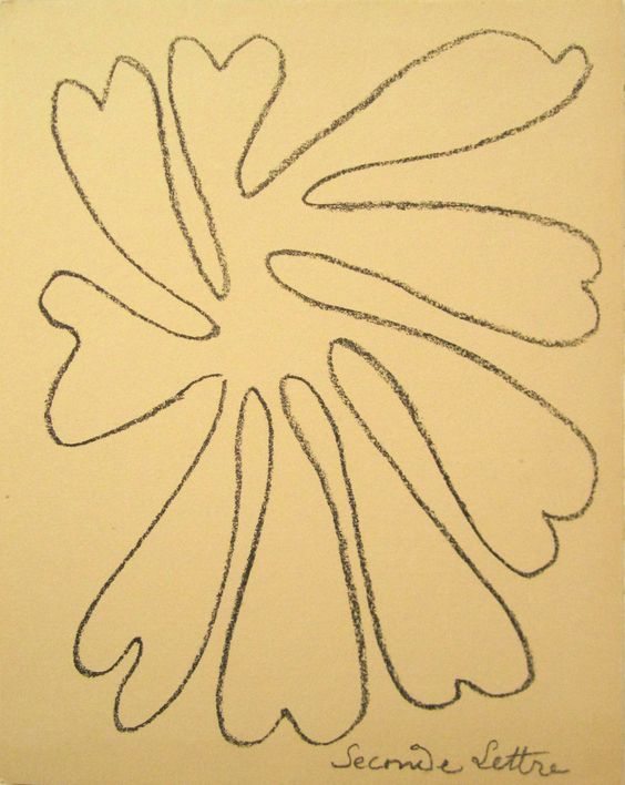 """Henri Matisse (French, 1869-1954), """"Untitled, 'Seconde Lettre'"""", 1946, lithograph, ed. 250"""