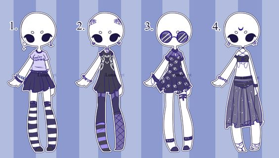 Set price Outfit Adopts: MONO CLOSED by Lunadopt on DeviantArt