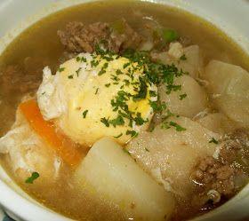 Cuisine with Chilean flavor: Pancutras (Pantrucas) - Chilean Soup with dumplings