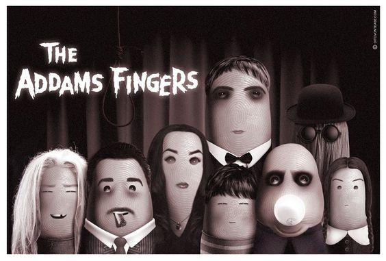 Thumbtastic, vos séries préférées sur le pouce : La Famille Addams